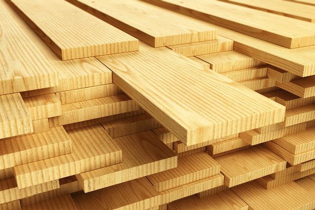 Lumber from Florida Building & Stair Supply