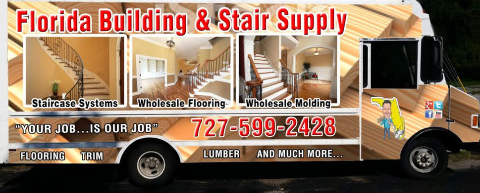 Delivery Service by Florida Building & Stair Supply